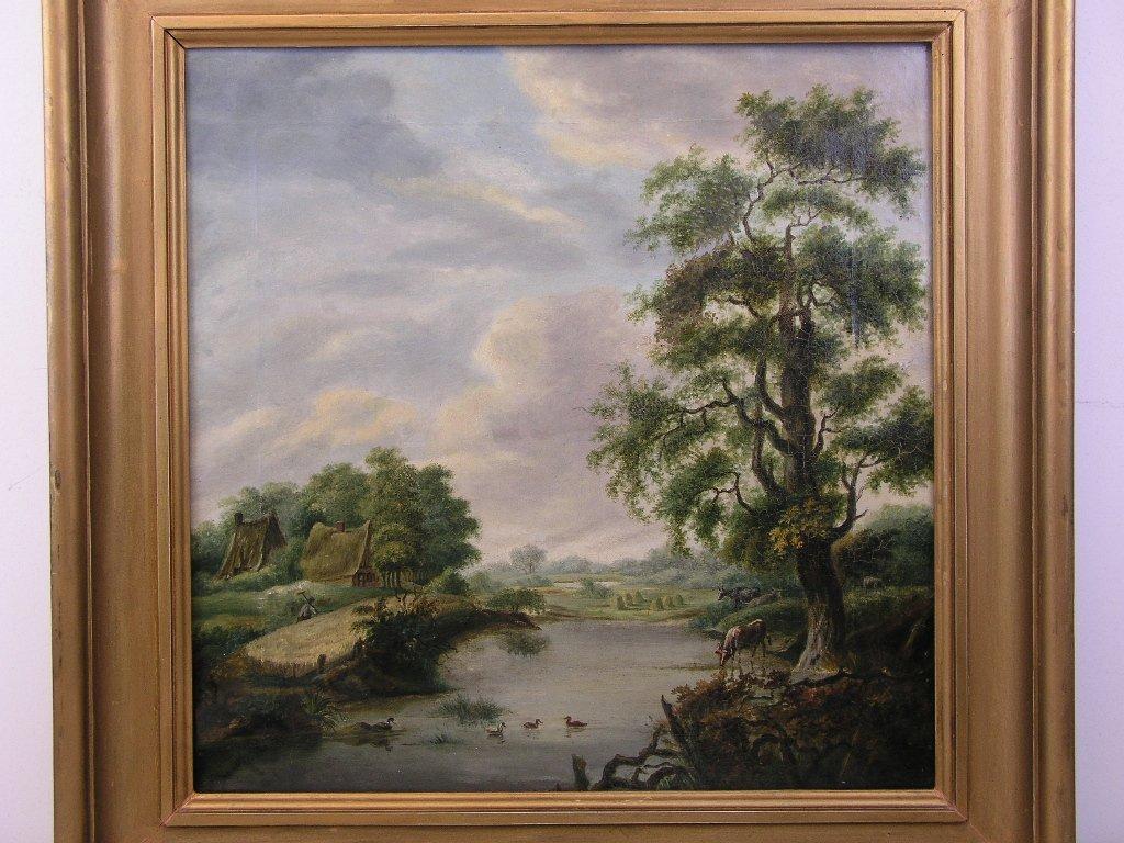 19e eeuws landschapsschilderij