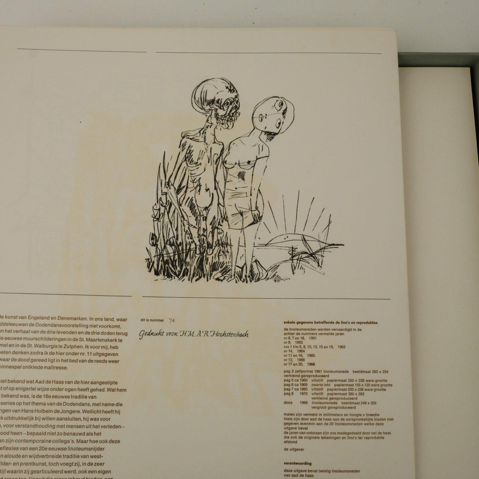 Aad de Haas (1921-1972) - De dood en het meisje