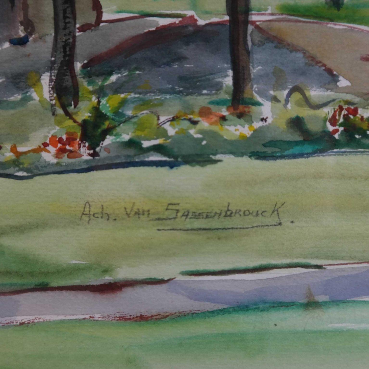 Achille van Sassenbrouck (1886-1979)