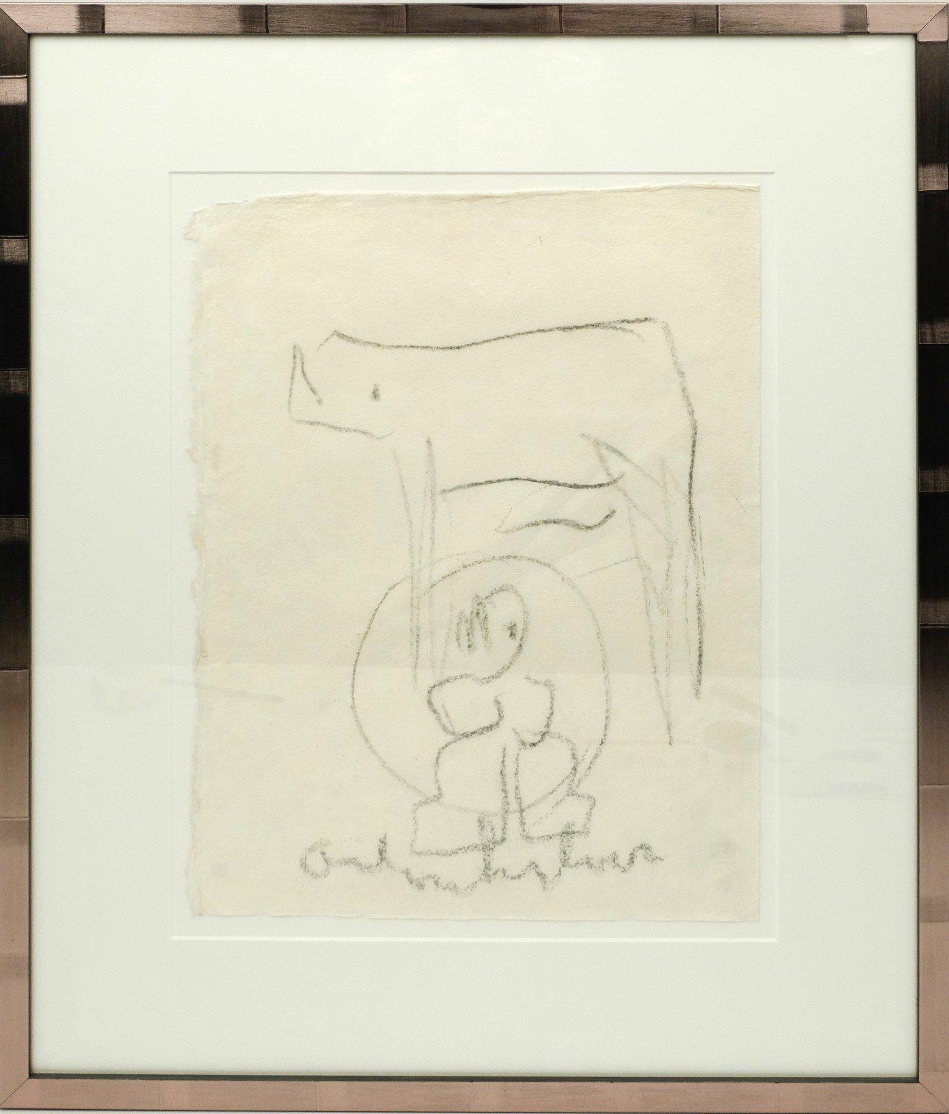 Anton Heijboer (1924-2005) - Kind met hond