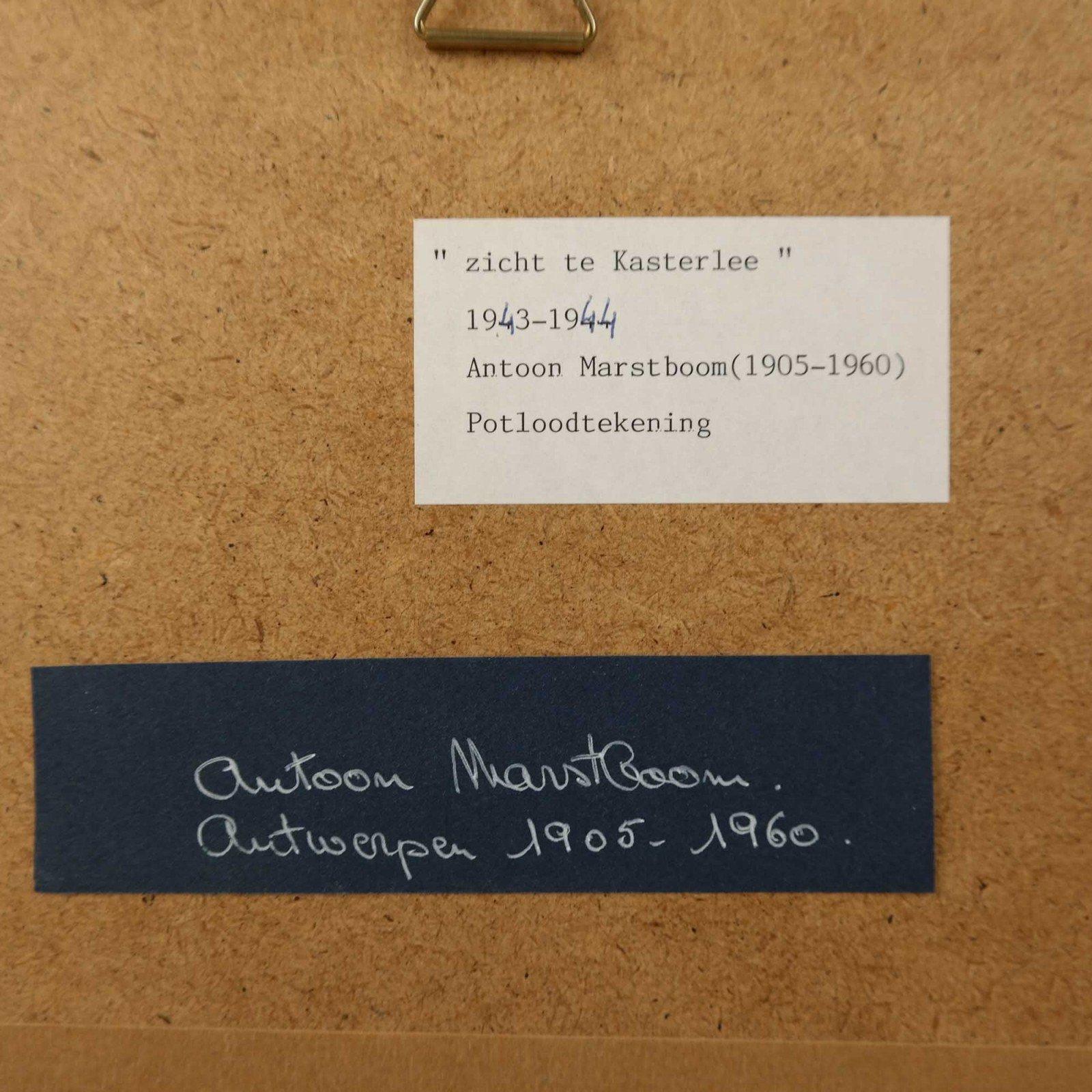 Antoon Marstboom (1905-1960)