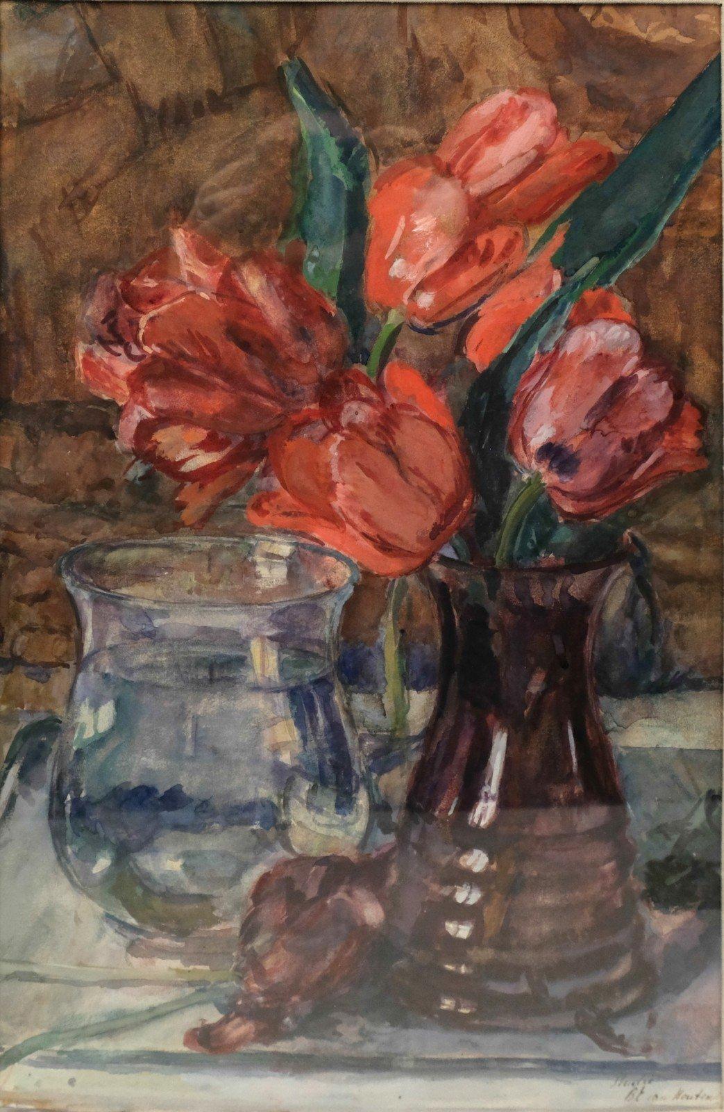 Barbara Elisabeth van Houten (1862-1950) – Bloemstilleven