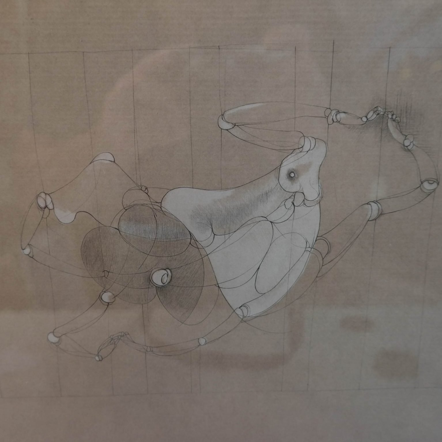 Hans Bellmer (1902-1975) - Les Marionnettes VIII (1969)