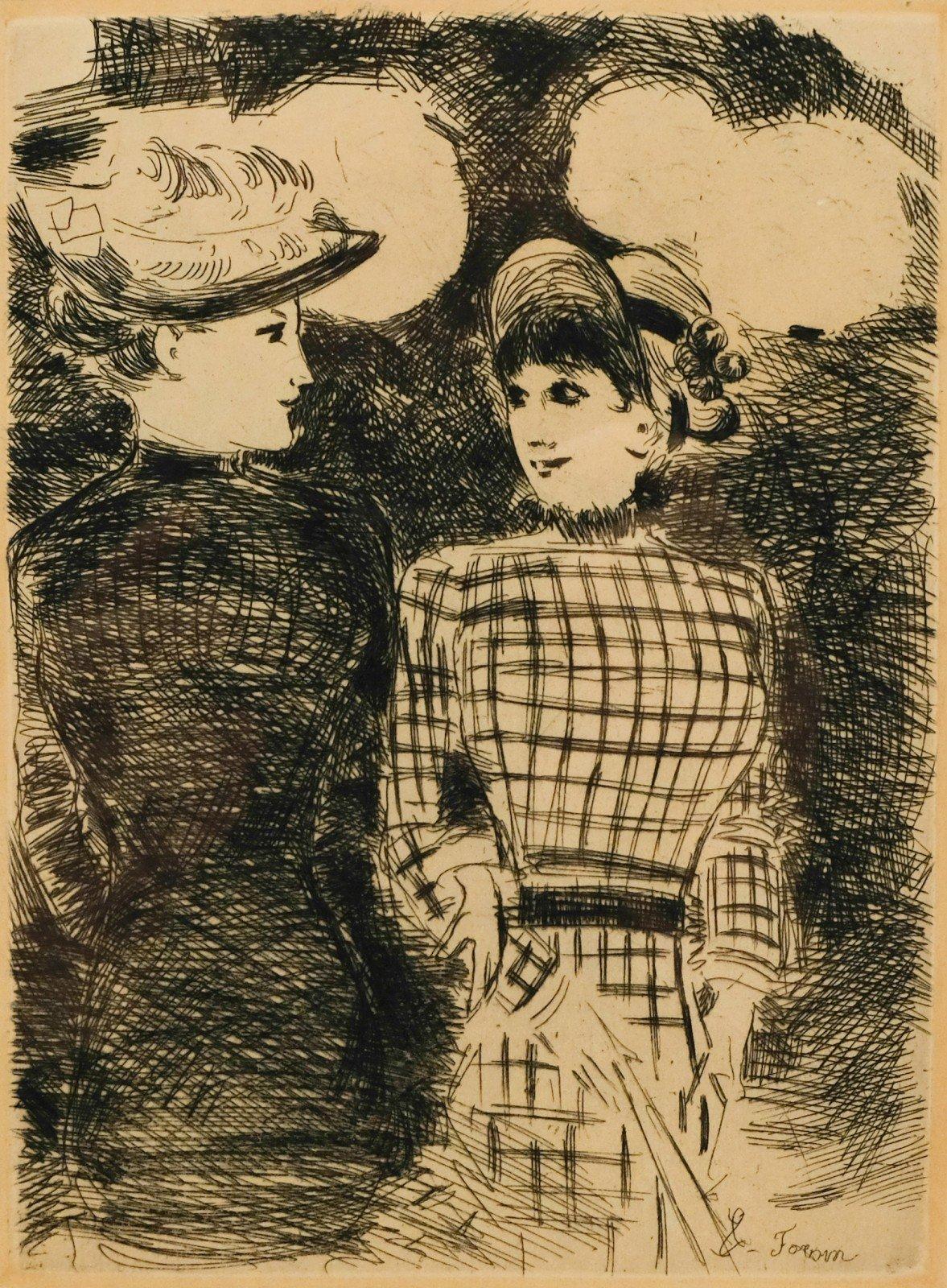 Jean-Louis Forain (1852-1931) - A Bullier