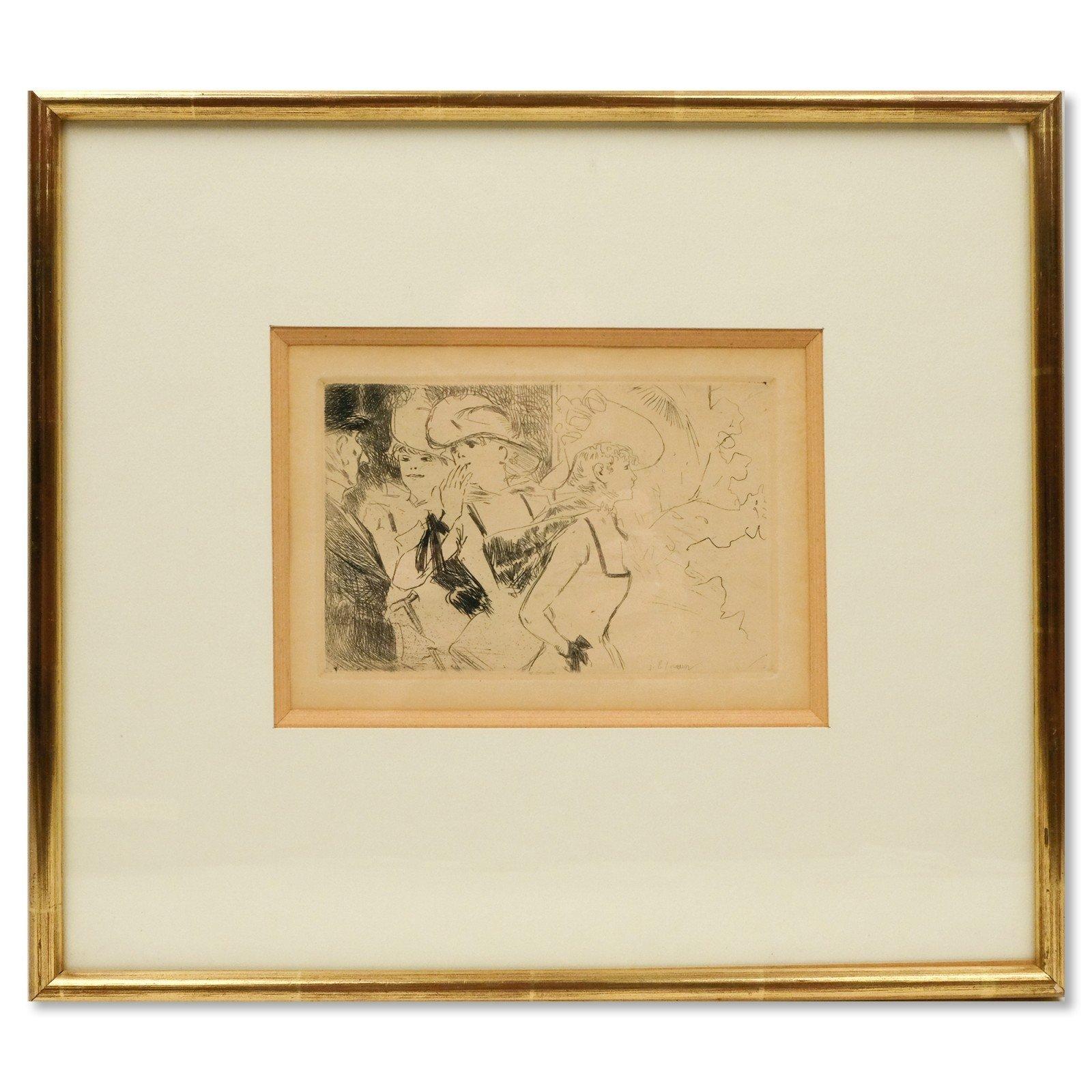 Jean-Louis Forain (1852-1931) - Les Folies Bergères
