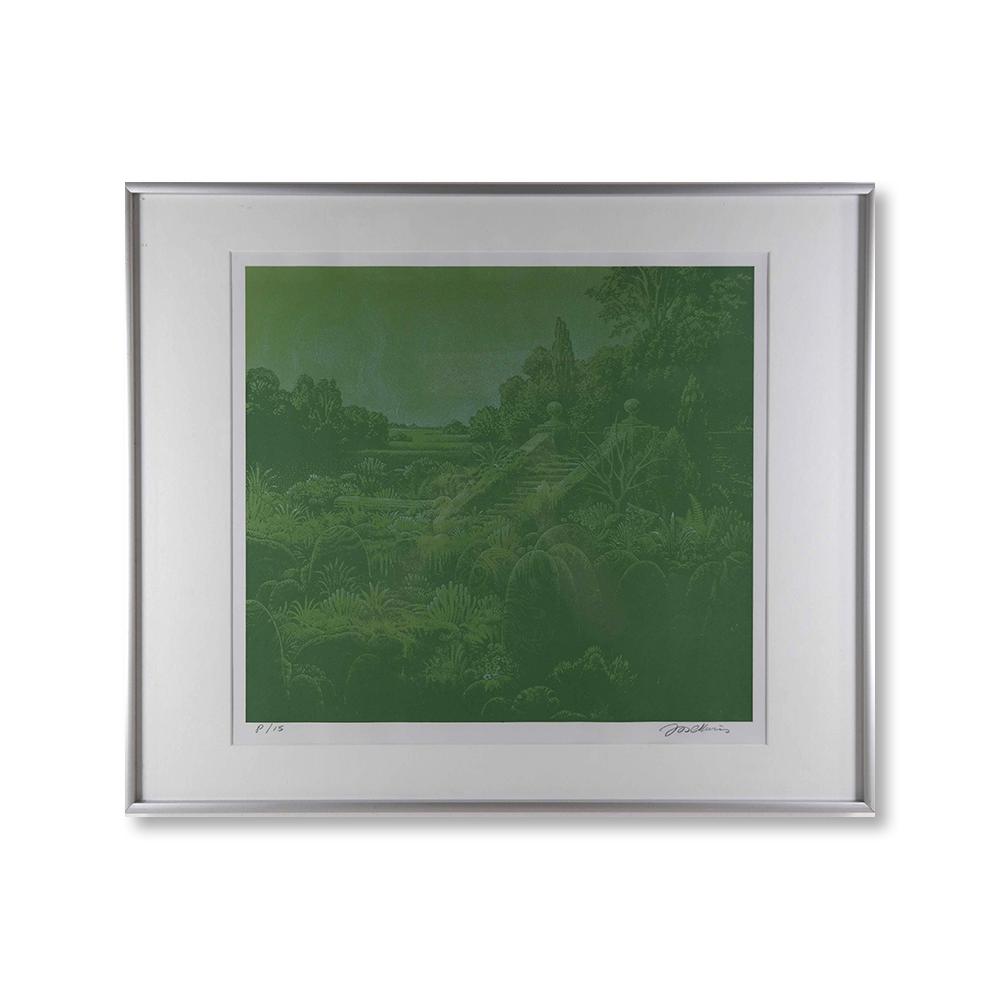 Jos Muris (1936-1984) – Ruïne in een groen landschap
