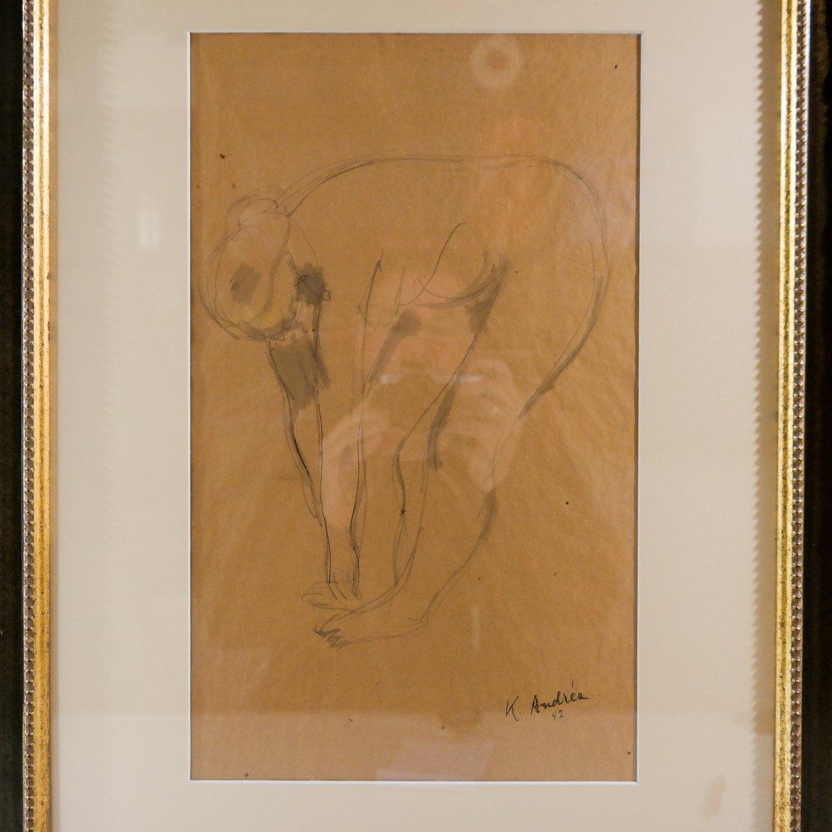 Kees Andrea (1914-2006) - Naakt