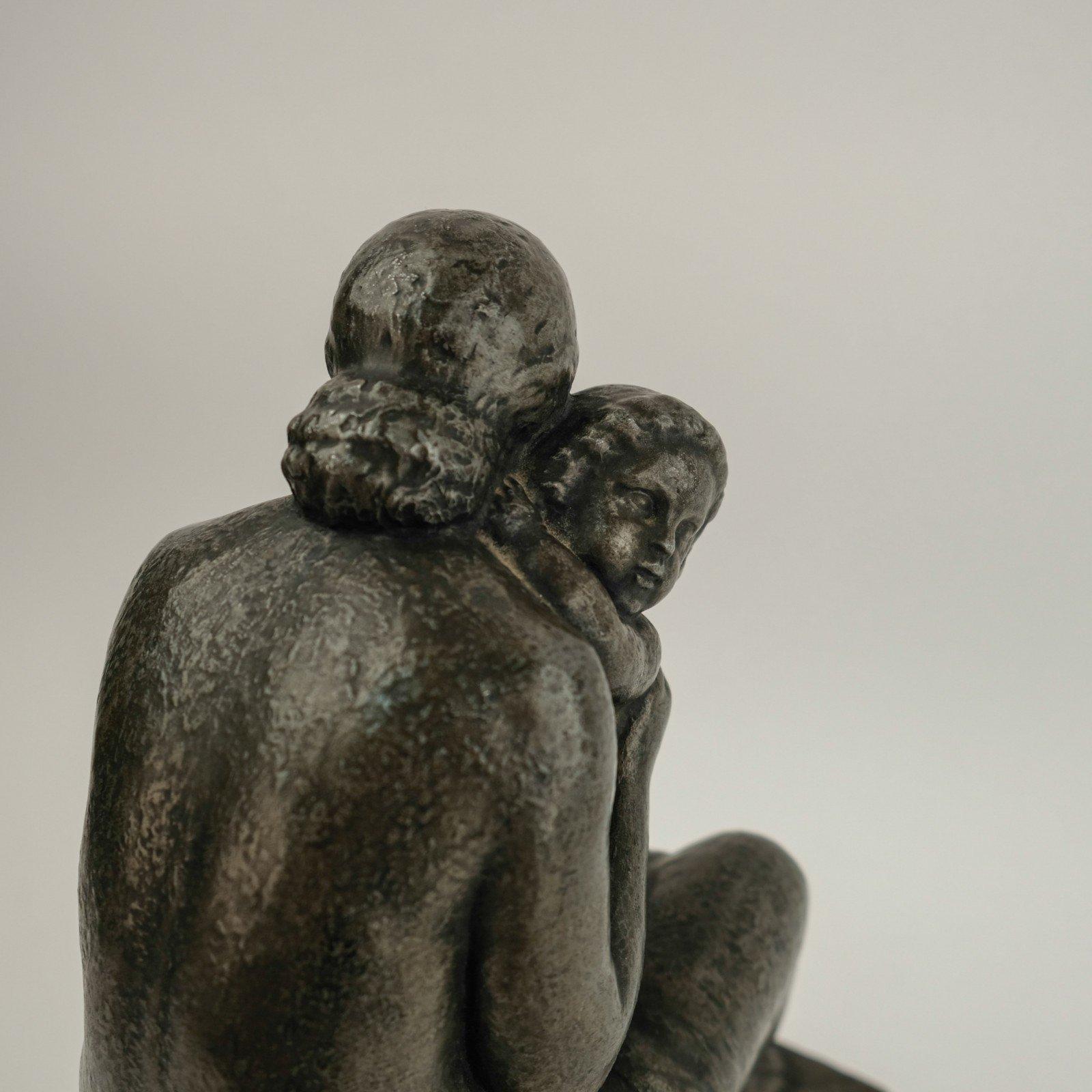 Lucien Gibert (1904-1988) - Moeder met kind