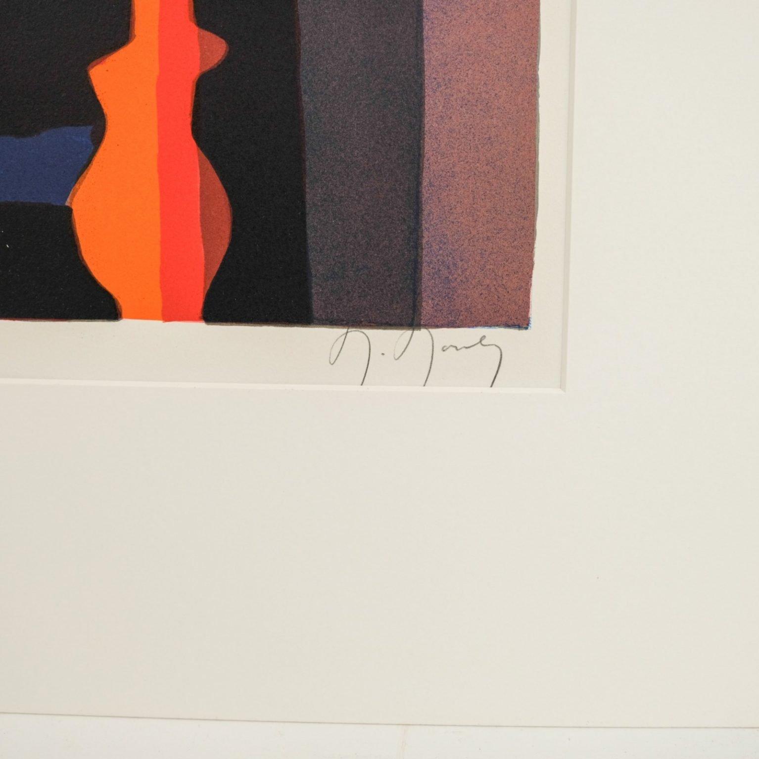 Marcel Mouly (1918-2008) - Souvenir de Düsseldorf