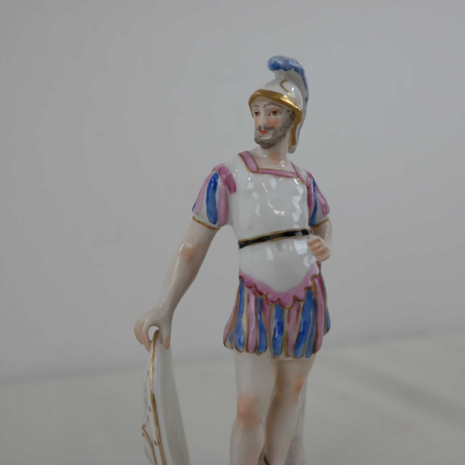 Nove di Bassano Griekse strijder met schild