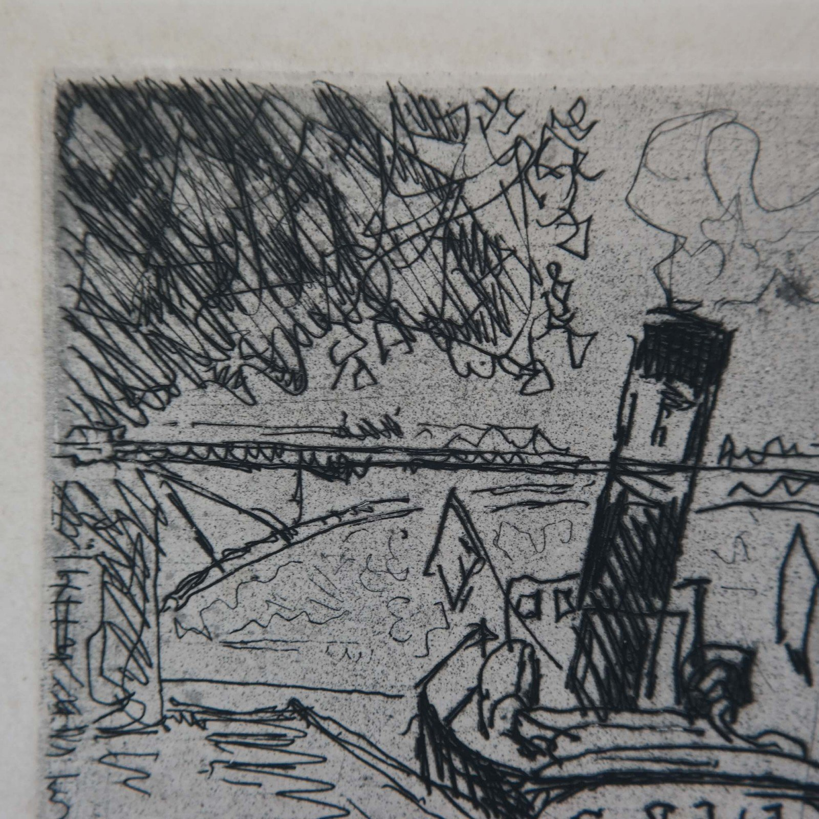 Paul Signac (1863-1935) - Le pont des Arts