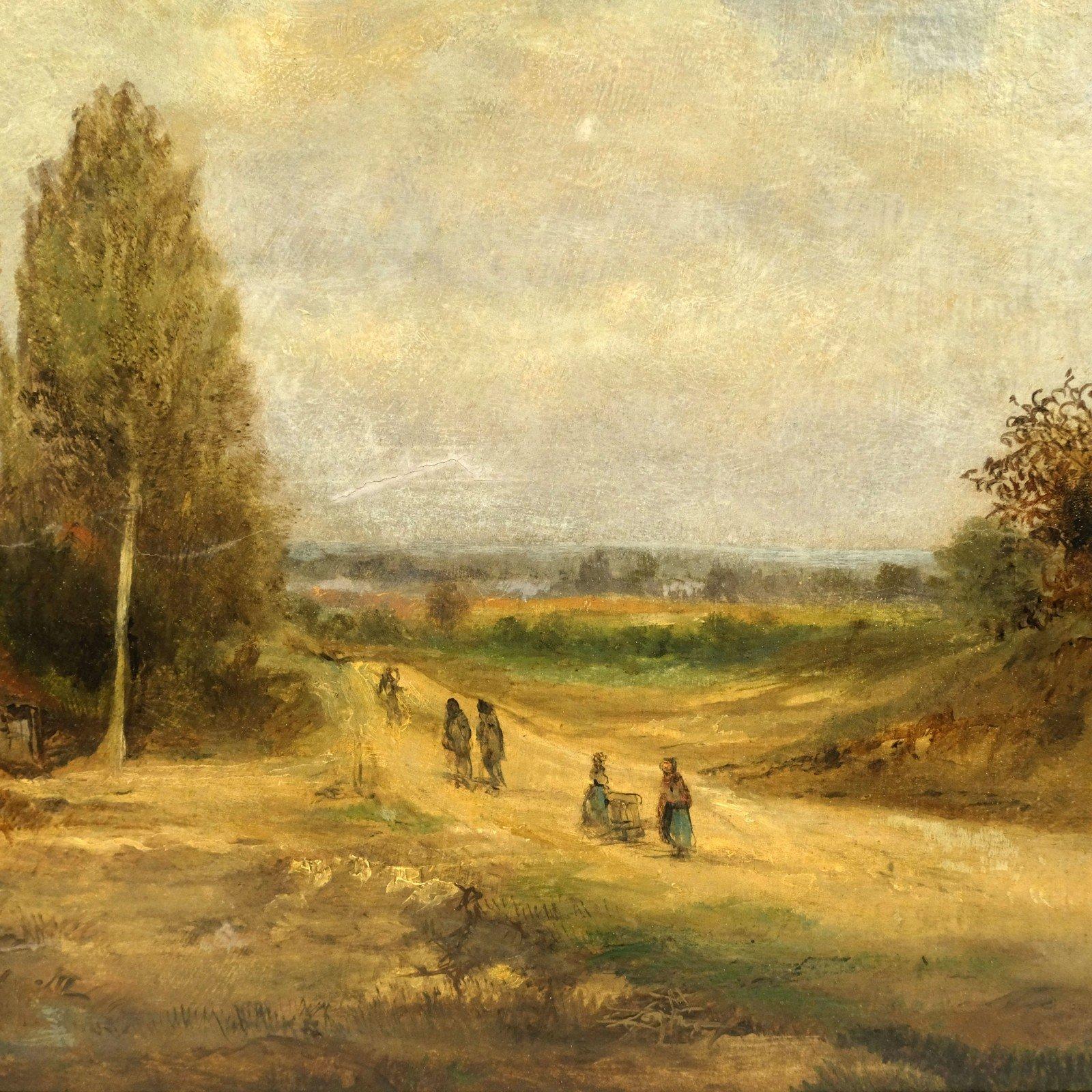 Théodore Schaepkens (1810-1883) – Landschap met boerderij