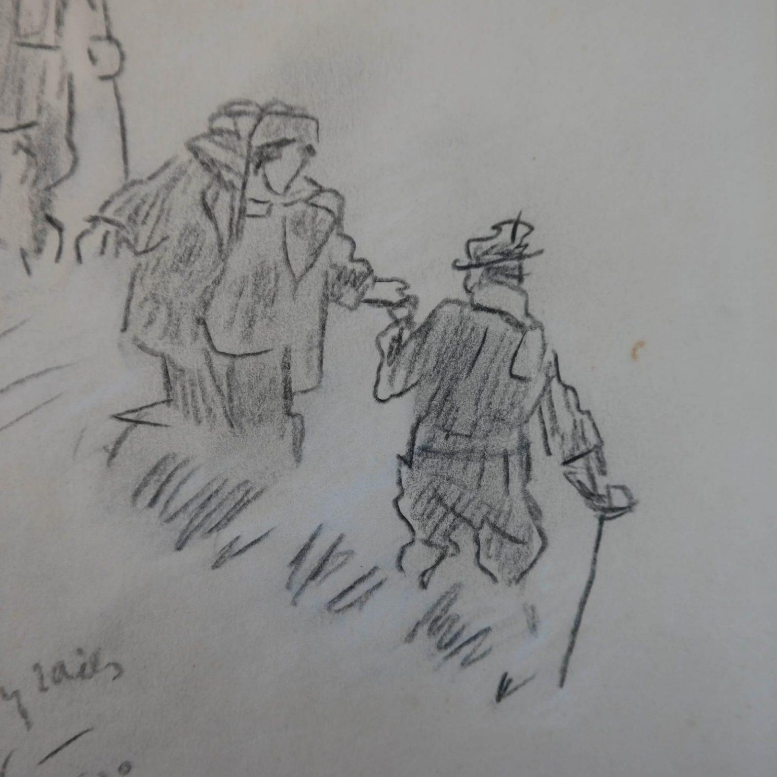 Willy Sluiter (1873-1949) – Davos op ski's