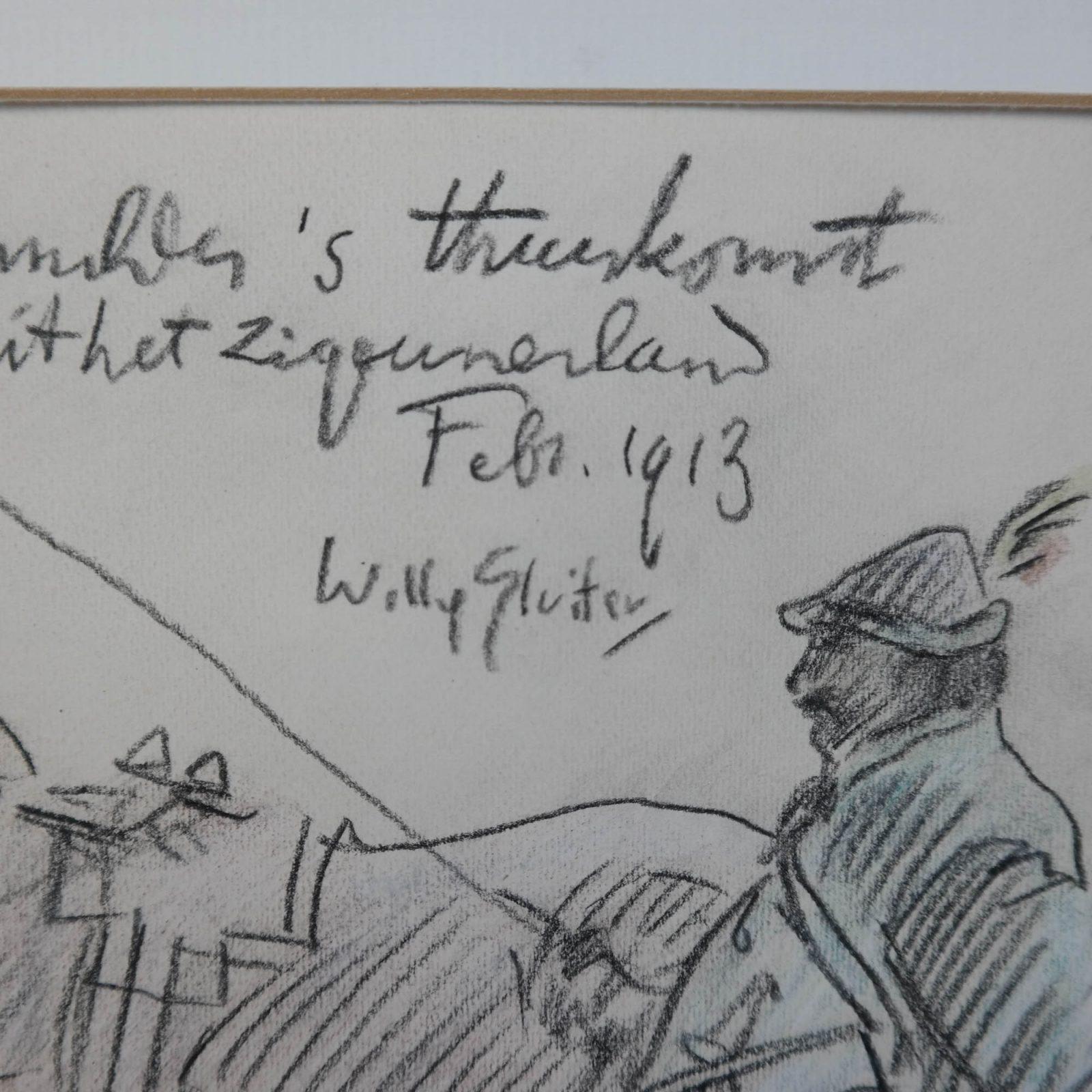 Willy Sluiter (1873-1949) – Kruytmuhler's thuiskomst
