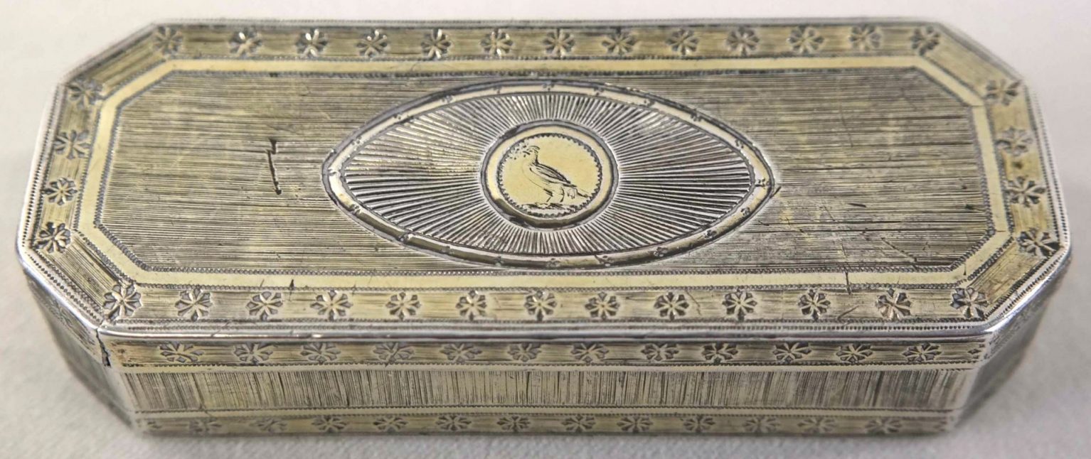 Zilveren snuifdoos Thomas Phipps & Edward Robinson