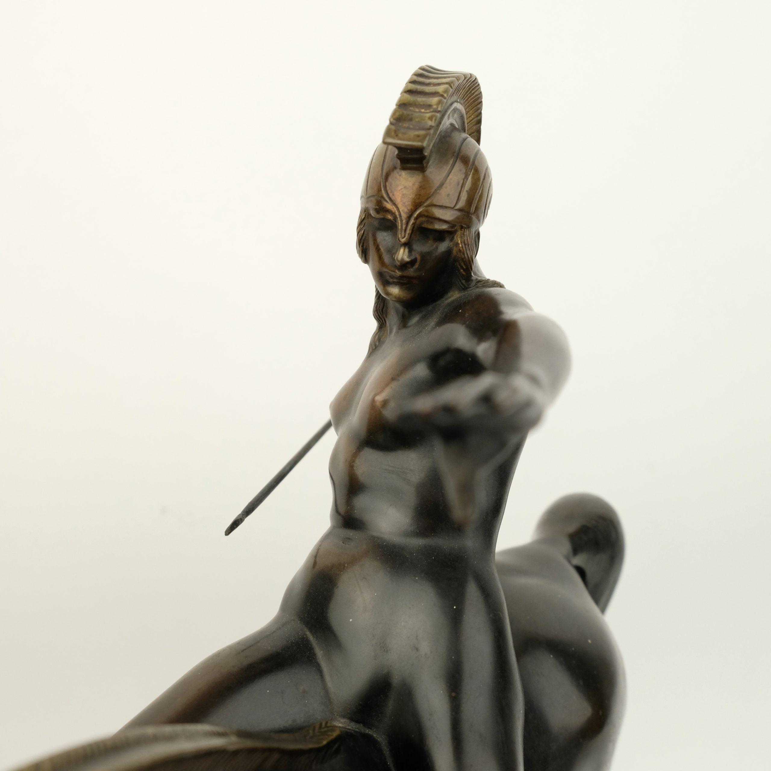 Karl Perl (1876-1965) – Amazone met speer