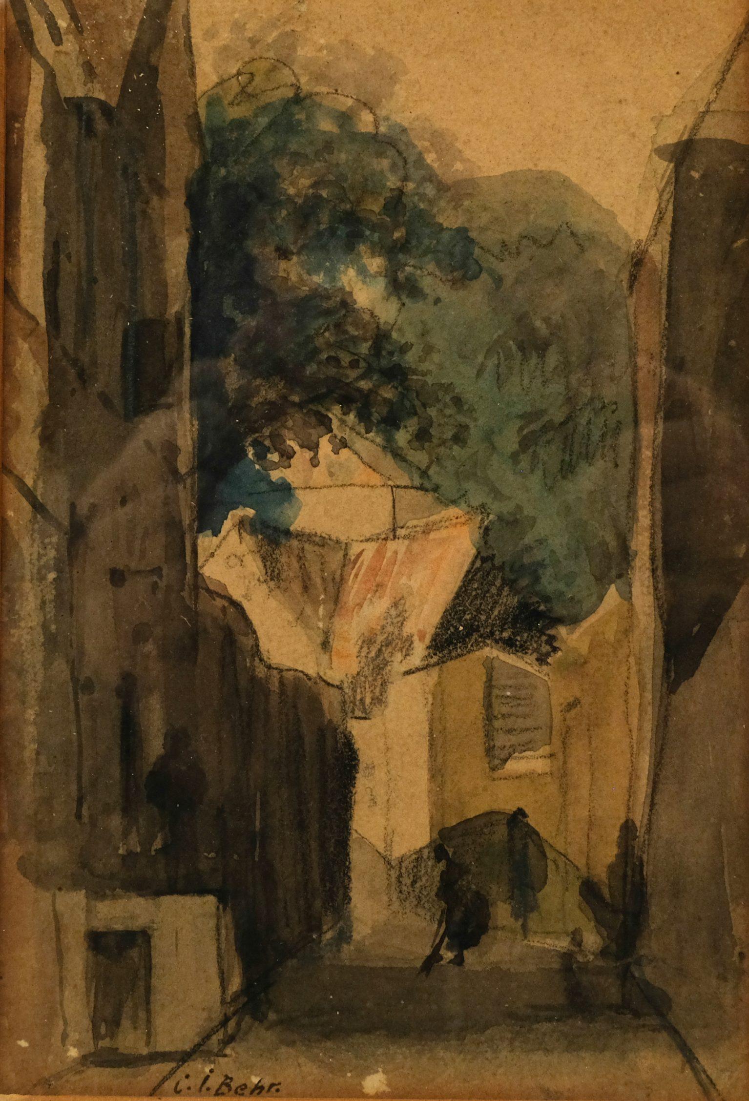 Carel Jacobus Behr (1904-1972) – Stadsgezicht