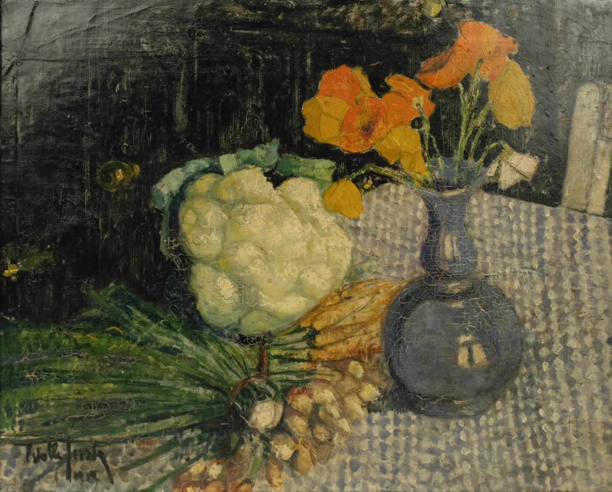 Estelle Juste (1894-1962) - Stilleven
