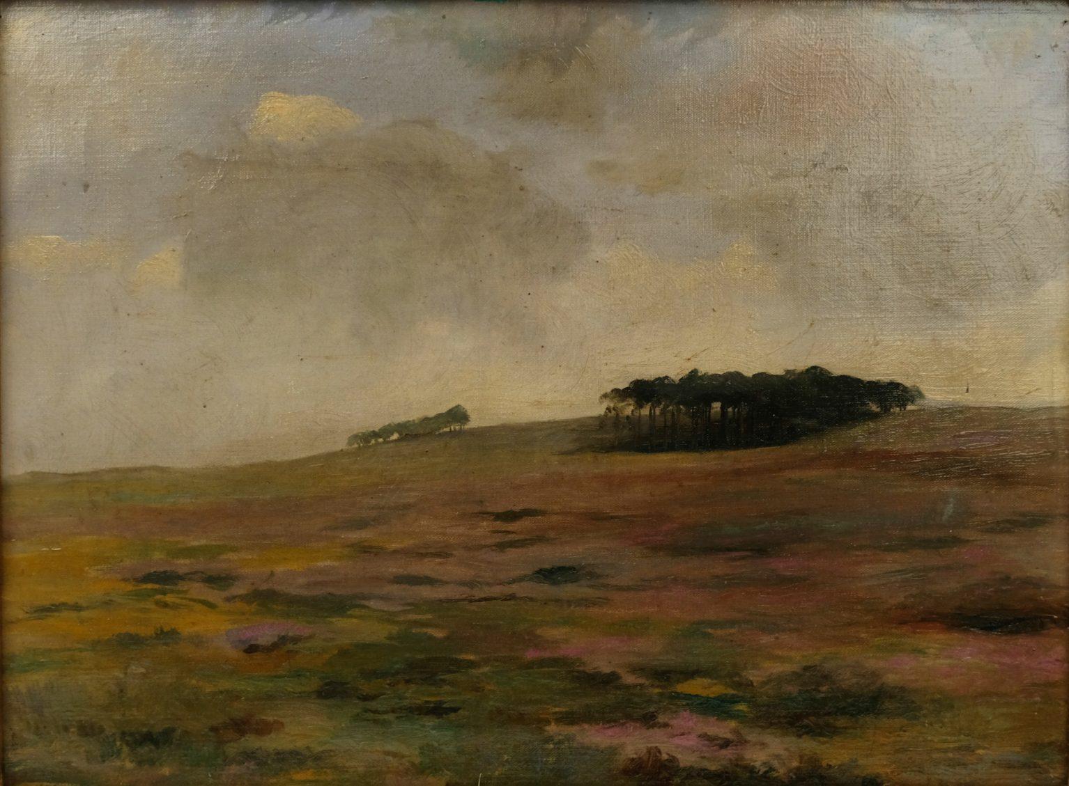 Jan Visser (1879-1961) – Heidelandschap