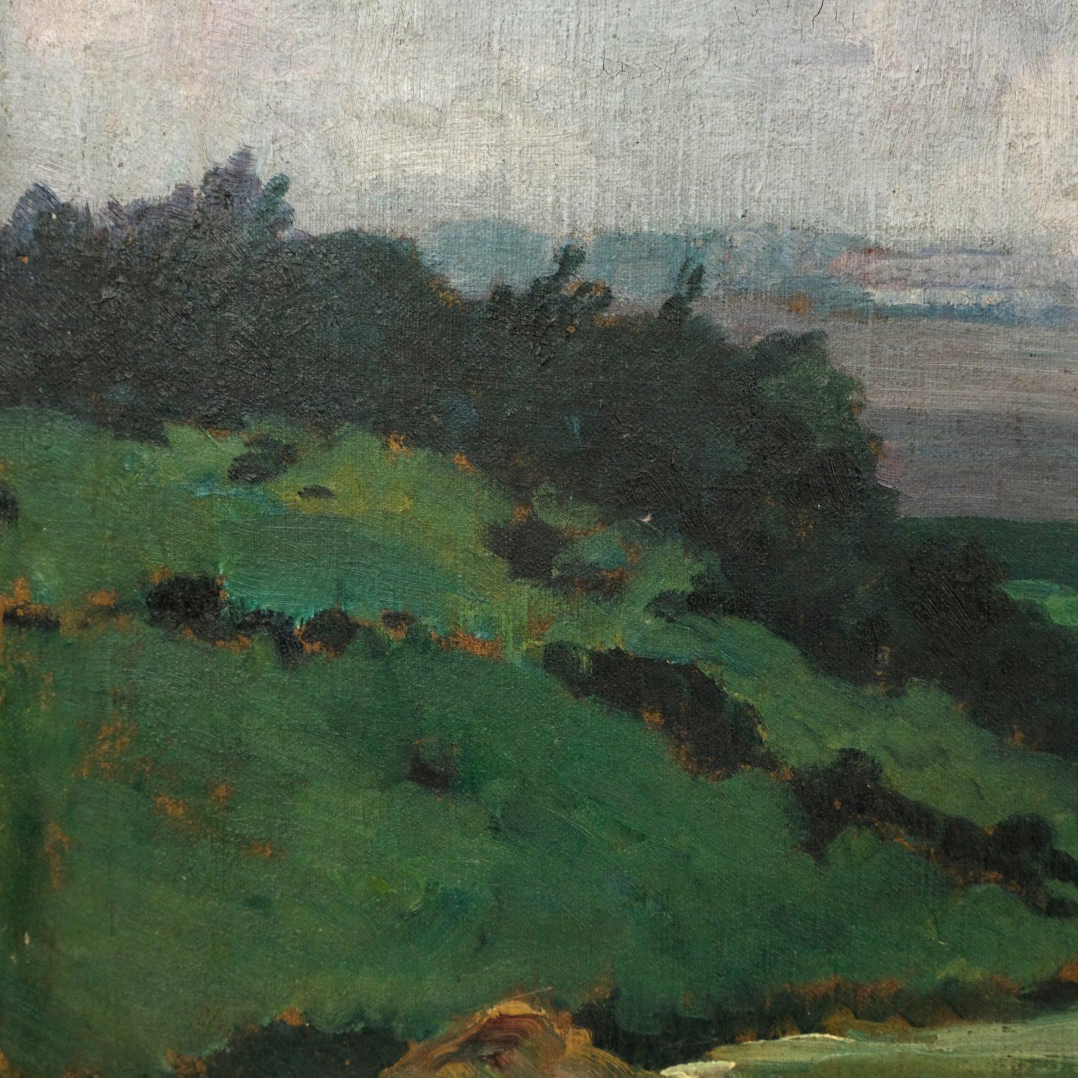 Louis Gustave Cambier (1874-1949) - Calvarie in de Ardennen