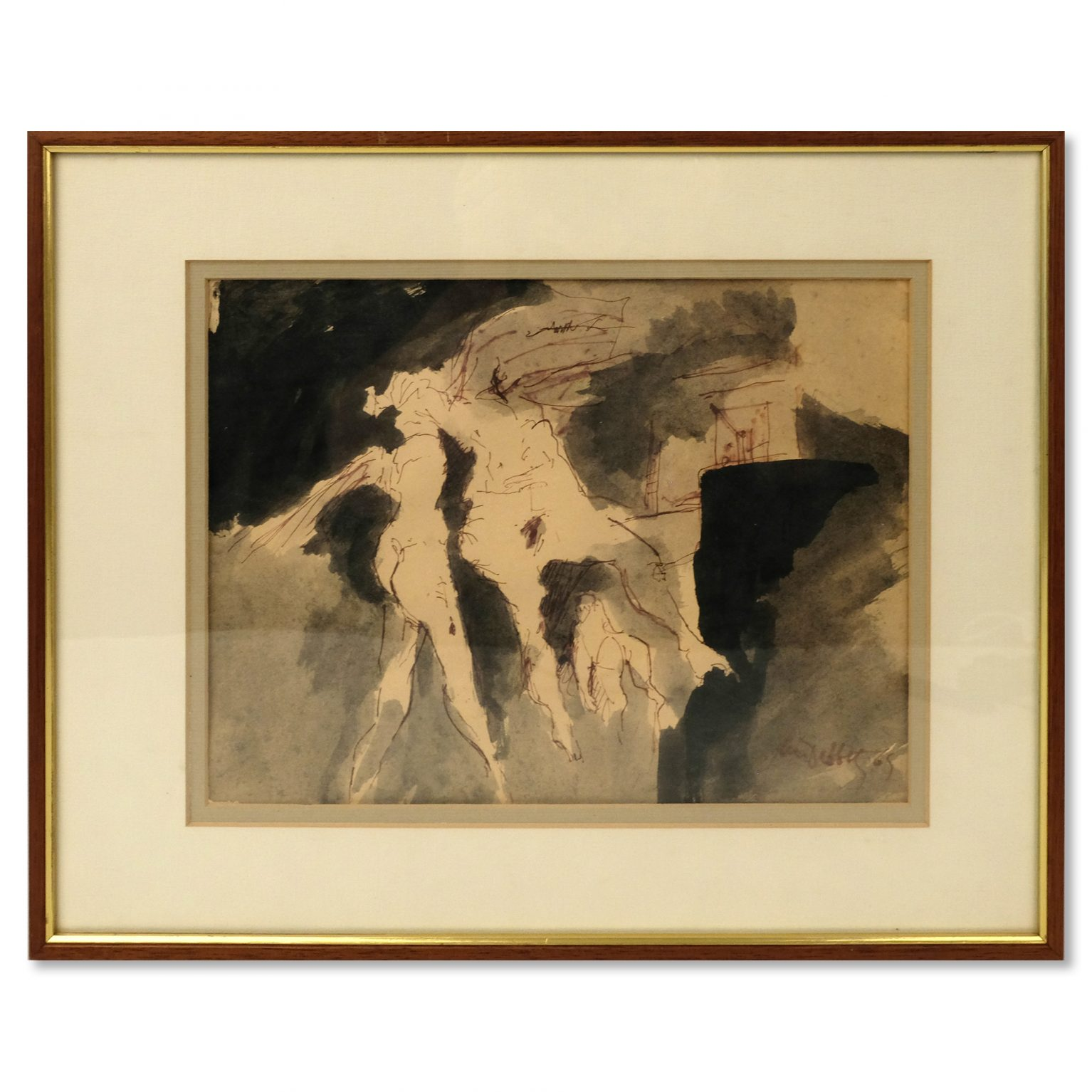 Jan Dibbets (1941) - Drie vrouwen