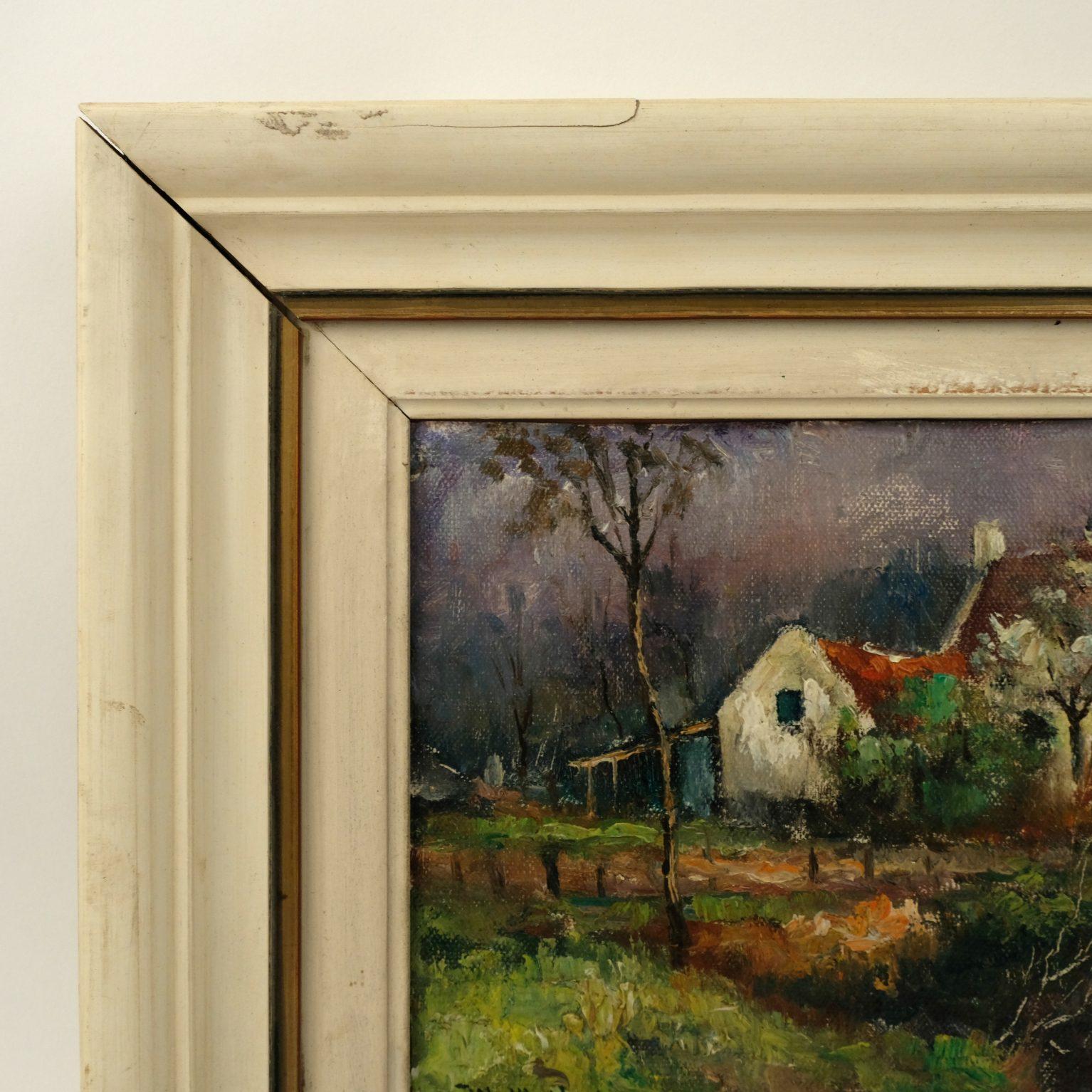 Walther Neuhof (1904-1982) - Boerderij aan beek